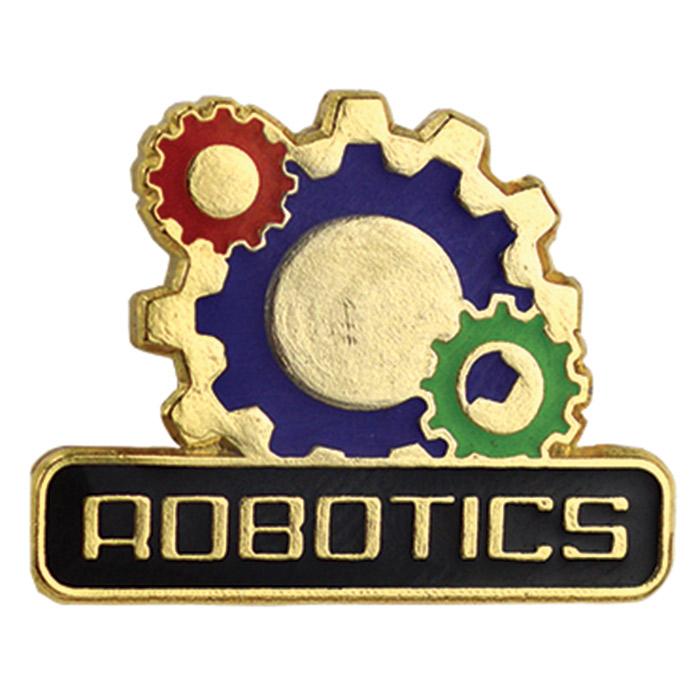 Robotics Pin Jones School Supply