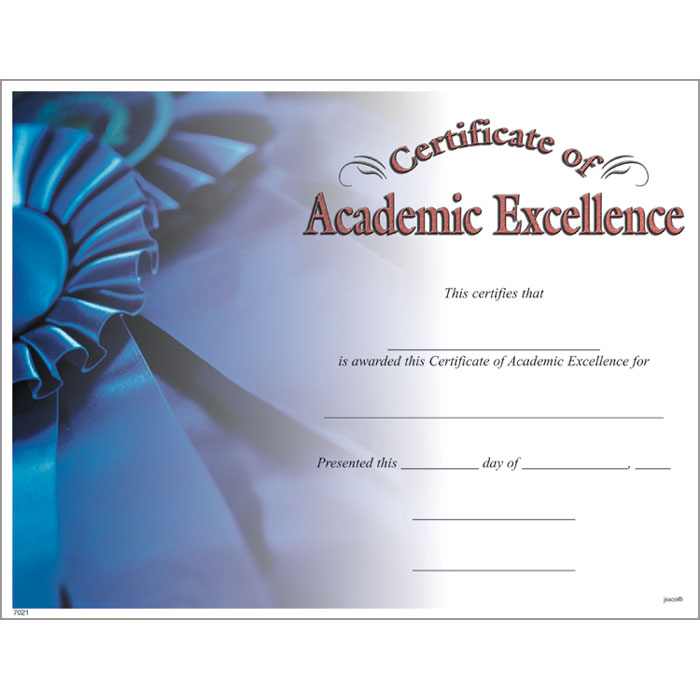 academic award template