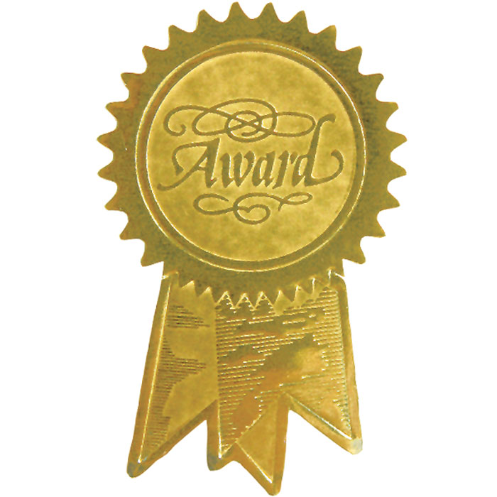 Award Ribbon Gold Seal Jones School Supply