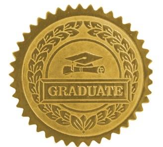 Graduate Seal Jones School Supply
