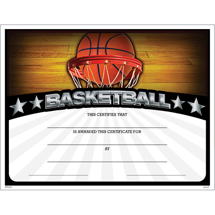 Basketball Award Certificate Pictures to pin on Pinterest