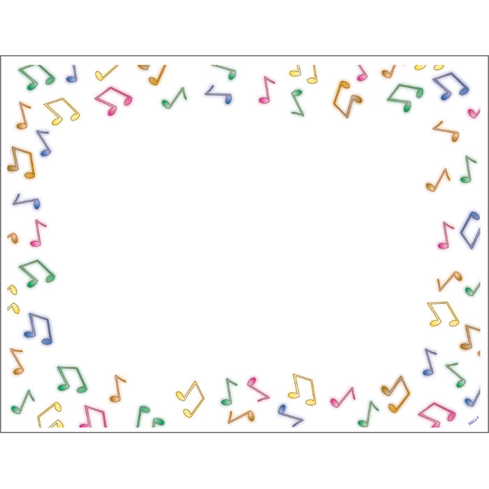 Music Notes Border - Jones School Supply