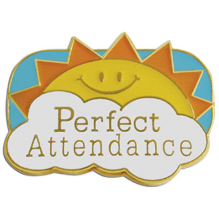 Perfect Attendance Pin  Jones School Supply